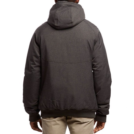 Volcom Master Coaster Jacket - Heather Black