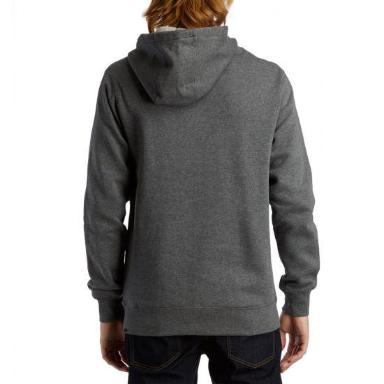 Volcom Single Stone Pullover Hoodie - Dark Grey
