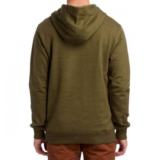 Volcom Single Stone Pullover Hoodie - Military
