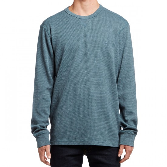 Volcom Randle Thermal Shirt - Airforce Blue