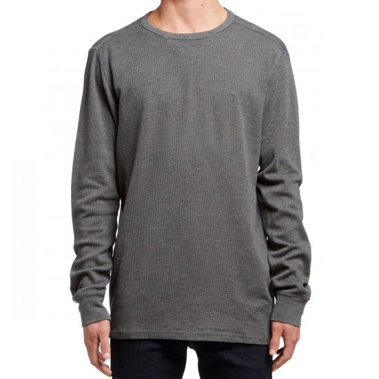 Volcom Randle Thermal Shirt - Stealth