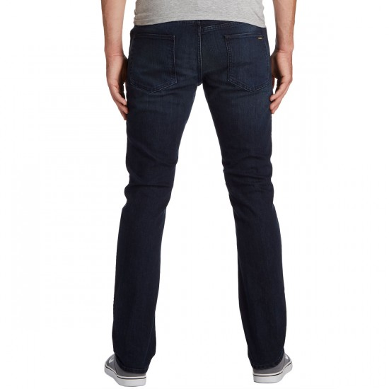 Volcom Vorta Form Jeans - Blue Drift Wash - 30 - 32