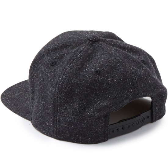 Volcom Quarter Fabric Hat - Asphalt Black