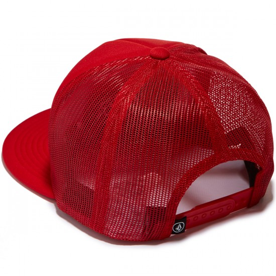 Volcom Mack Cheese Hat - Blood Red