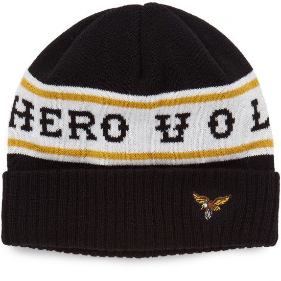 Volcom X Anti-hero High Track Beanie - Black