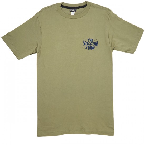 Volcom Old Russ T-Shirt - Vineyard Green