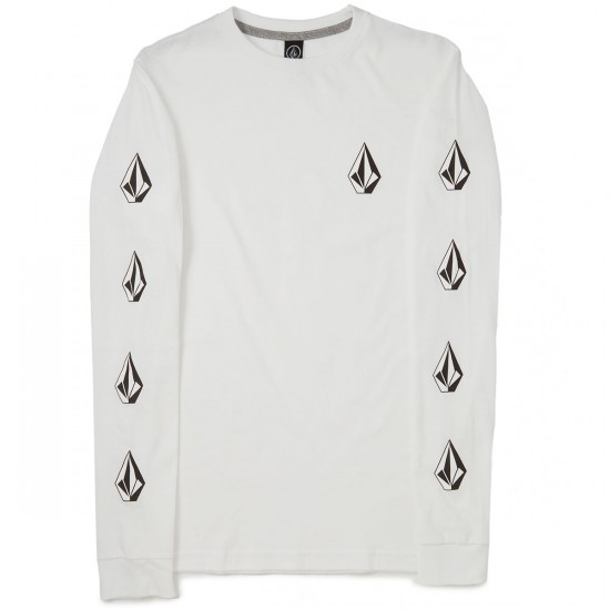 Volcom Deadly Stones Long Sleeve T-Shirt - White