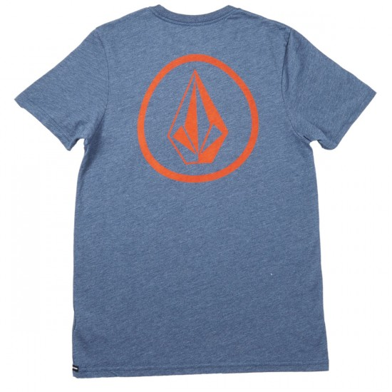 Volcom Forever Stone T-Shirt - Airforce Blue