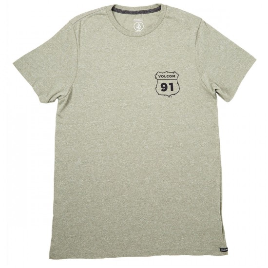 Volcom Highway 91 T-Shirt - Vineyard Green