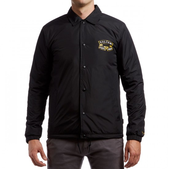 Volcom X Anti-hero Coaches Jacket - Black