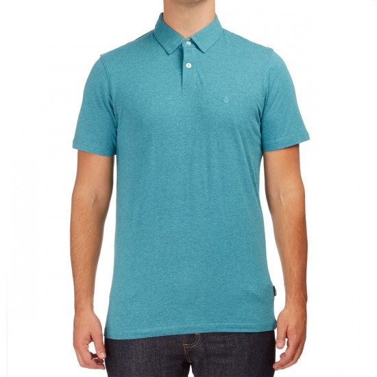 Volcom Wowzer Polo Shirt - Harbor Blue