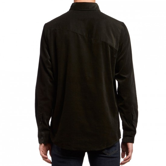 Volcom Hackley Long Sleeve Shirt - Stealth