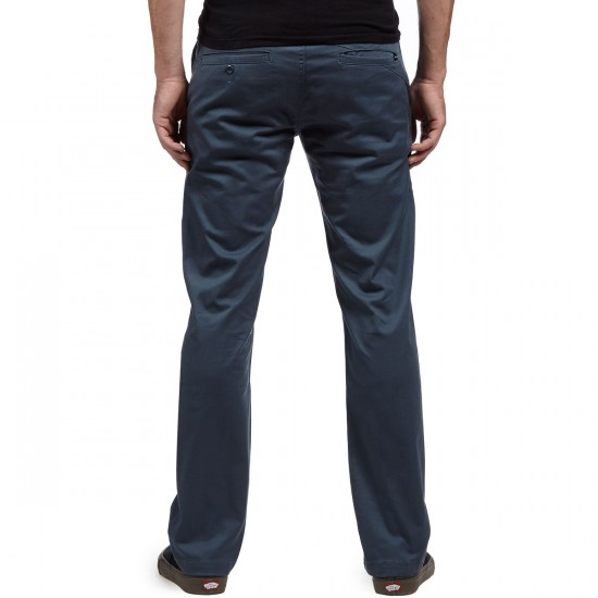 Volcom Frickin Modern Stretch Pants - Airforce Blue - 28 - 32