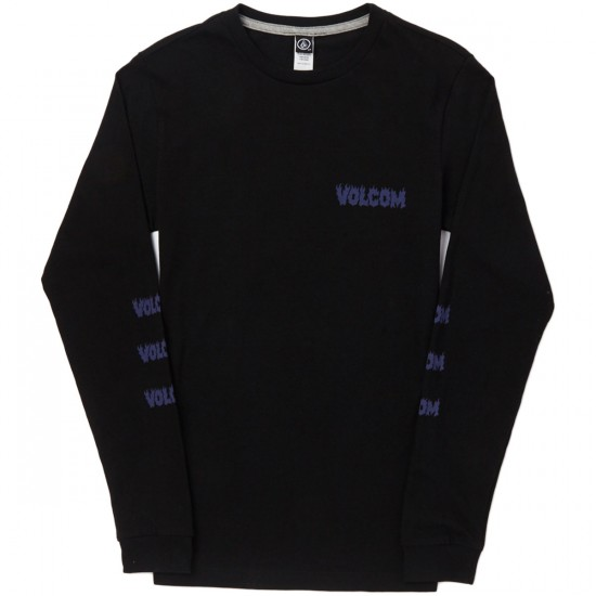 Volcom Hesh Long Sleeve T-Shirt - Black