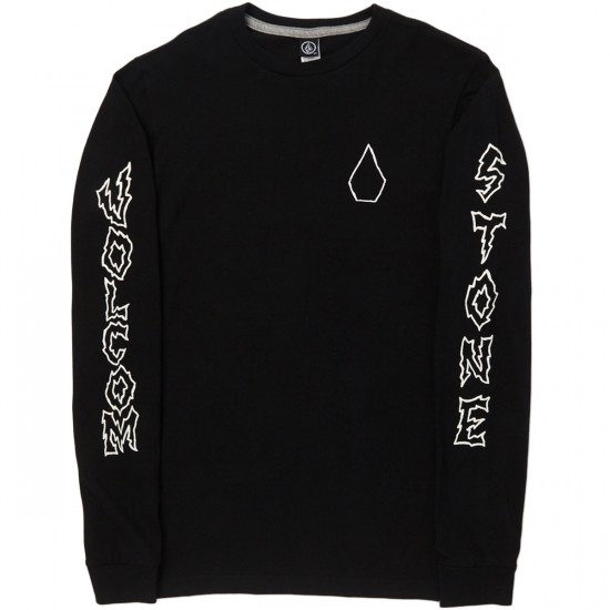 Volcom Borderline Long Sleeve T-Shirt - Black