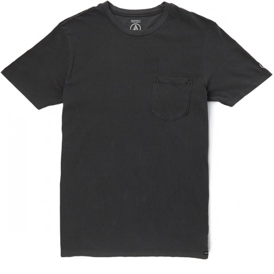 Volcom Pale Wash T-Shirt - Black
