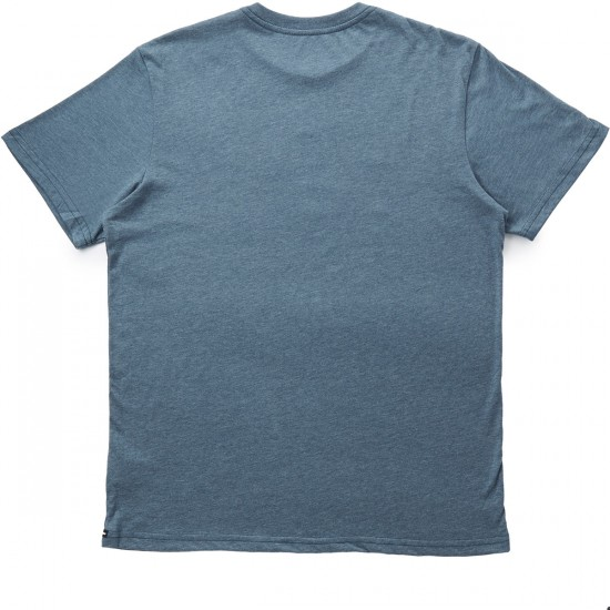 Volcom Solid Stone T-Shirt - Airforce Blue