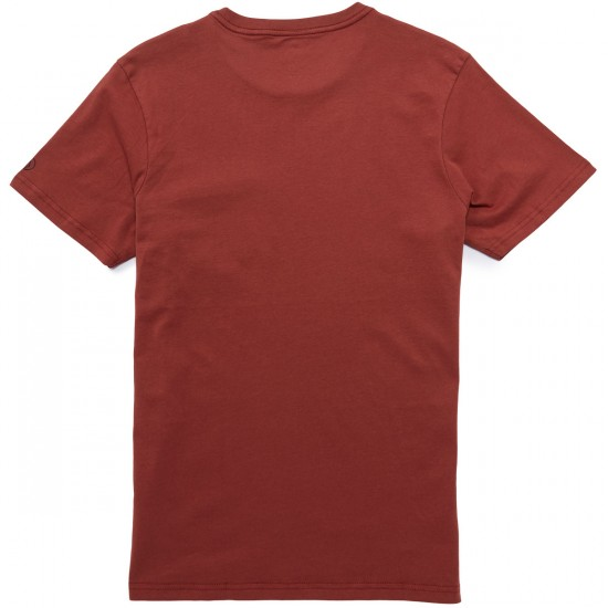 Volcom Solid Pocket T-Shirt - Dark Clay
