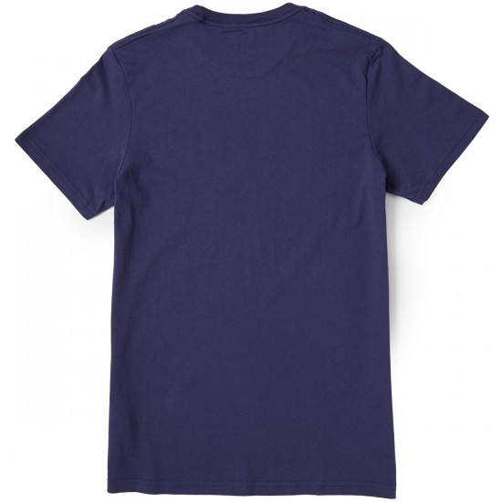 Volcom Hesh Lord T-Shirt - Blue Plum