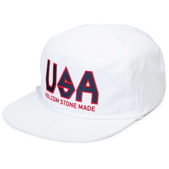 Volcom Stonation Hat - White