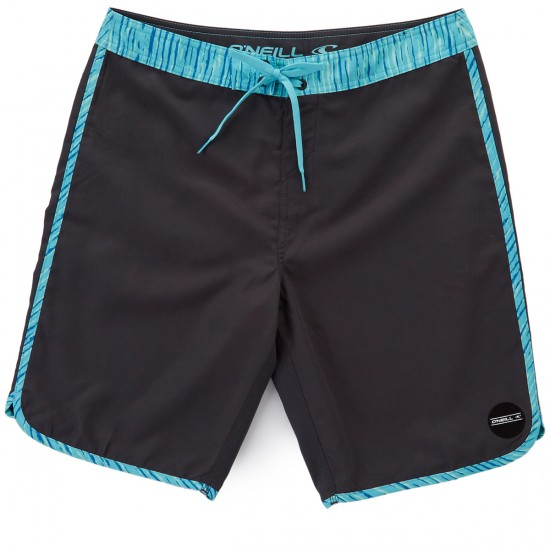 O'Neill Santa Cruz Scallop Boardshorts - Steel Grey