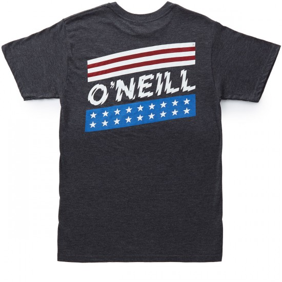 O'Neill Cannons T-Shirt - Heather Black