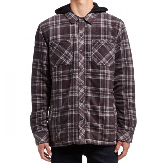 O'Neill Glacier Quilted Long Sleeve Shirt - Steel Grey