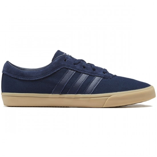 Adidas Sellwood Shoes - Navy/Gum/Navy - 8.0
