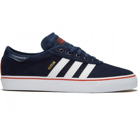 Adidas Adi-Ease Premiere Shoes - Navy/White/Craft Chili - 7.0