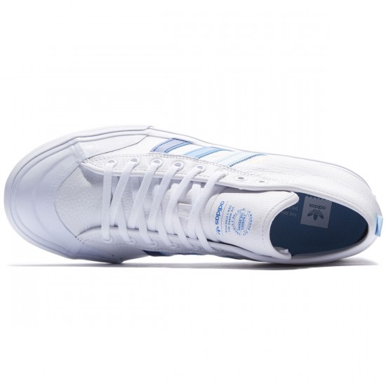 Adidas Matchcourt Mid Shoes - White/Royal Bluebird - 8.0