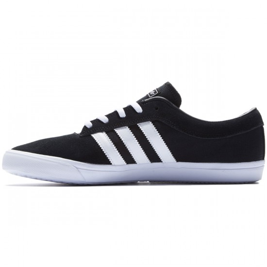Adidas Sellwood Shoes - Black/White/Black - 8.0