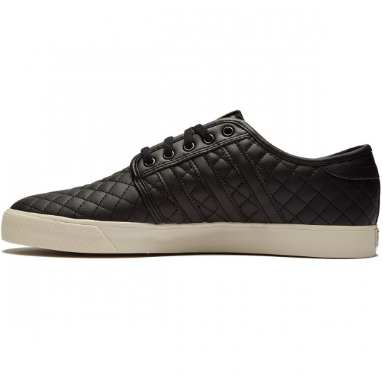 Adidas Seeley Shoes - Black/Black/Clear Brown - 8.0