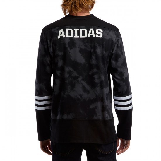 Adidas Hockey Jersey - Black/Grey