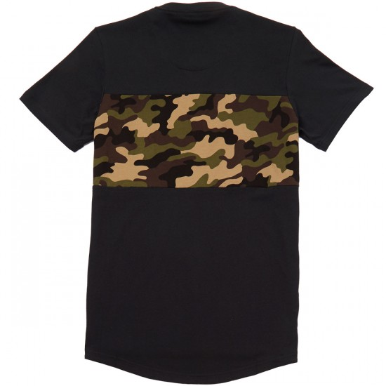 Adidas Camo Block T-Shirt - Black