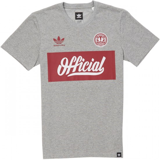 Adidas X Official T-Shirt - Core Heather