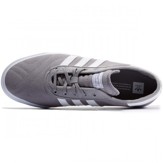 Adidas Adi-Ease Premiere Shoes - Grey/White/White - 11.0
