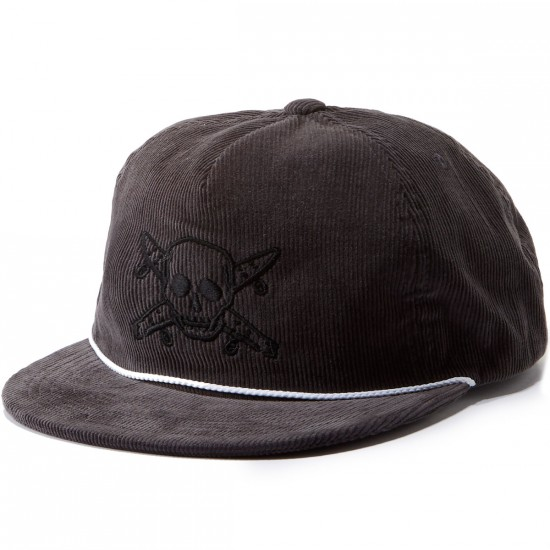 Fourstar Pirate Cord Hat - Grey