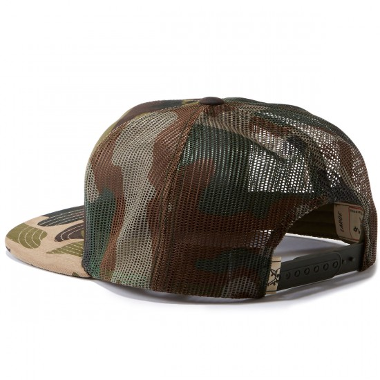 Fourstar Classic Trucker Patch Hat - Camo