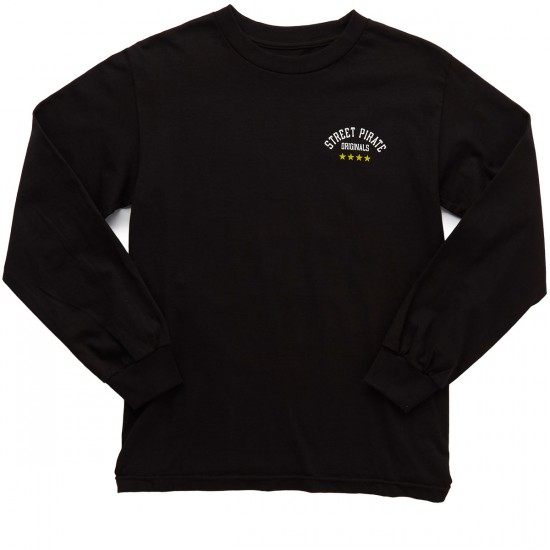 Fourstar Originals Long Sleeve T-Shirt - Black