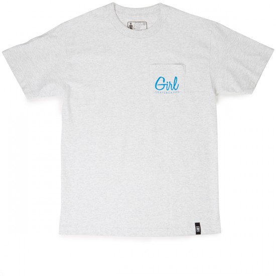 Girl Century Pocket T-Shirt - Ash