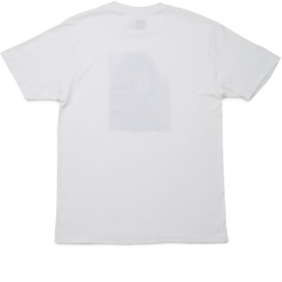 Chocolate Lisa T-Shirt - White