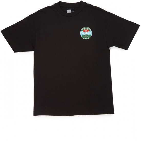 Chocolate Hardcourt T-Shirt - Black
