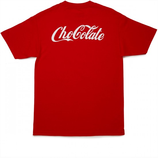 Chocolate ChoCola T-Shirt - Red