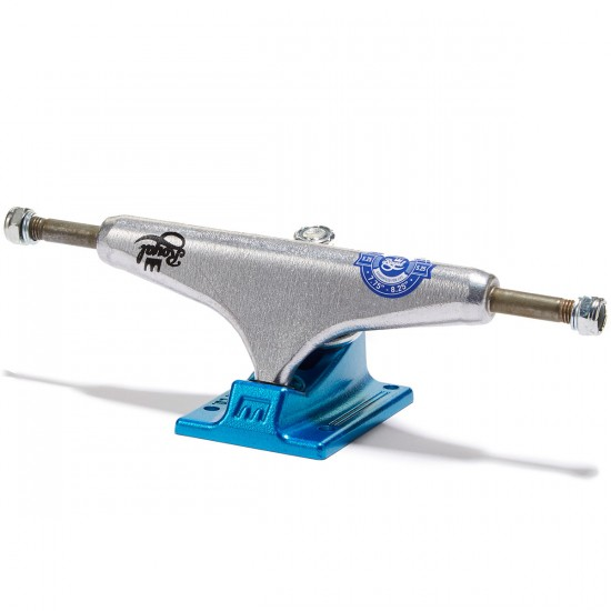 Royal Mini Crown Skateboard Trucks - Raw/Royal