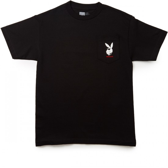 Chocolate Joe Pocket T-Shirt - Black