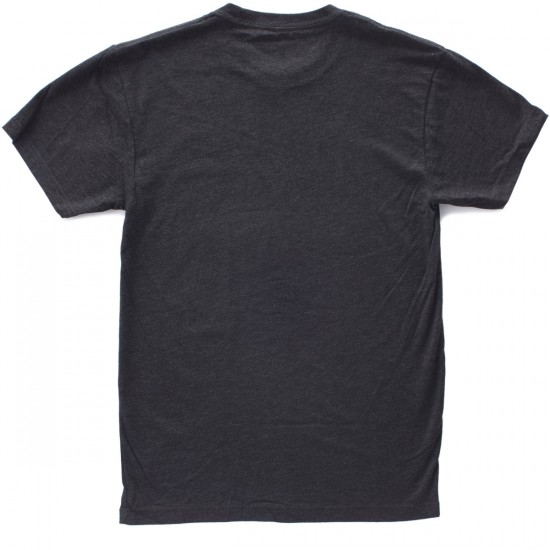 Chocolate Chunk Triblend T-Shirt - Triblend Black/Red