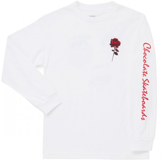 Chocolate Dreamers Long Sleeve T-Shirt - White