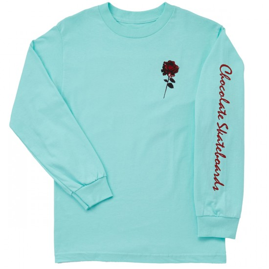 Chocolate Dreamers Long Sleeve T-Shirt - Celadon