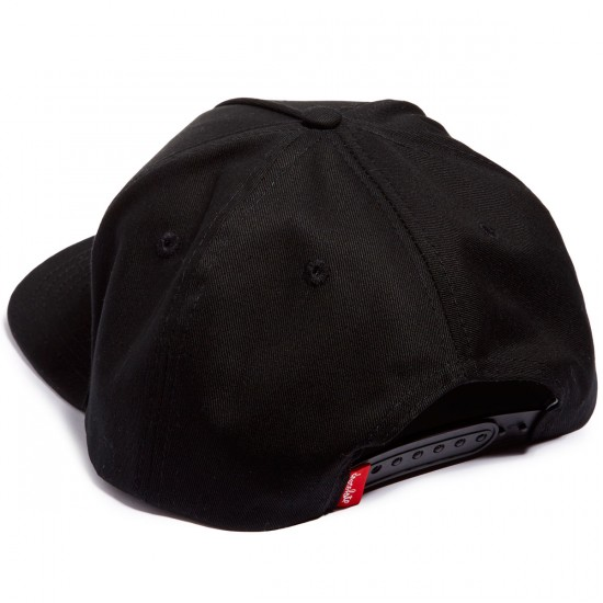 Chocolate Chunk 5 Panel Hat - Black