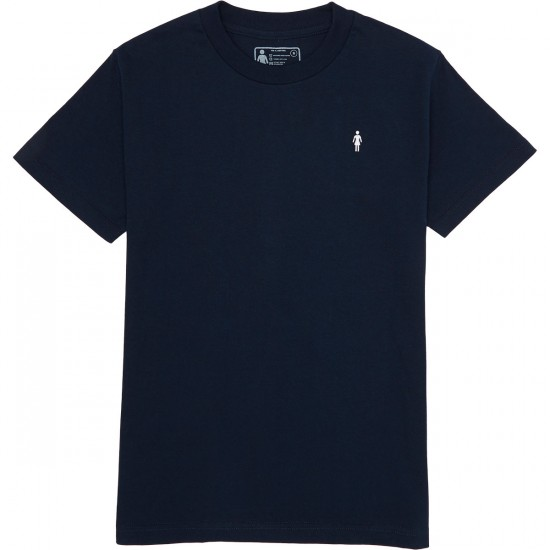Girl Micro OG T-Shirt - Navy